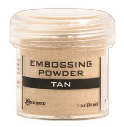Ranger - Opaque/Shiny Embossing Powder - Tan
